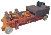 Машина для снятия/установки редуктора мотор-колеса (РМК) карьерных самосвалов г/п 130...320 тонн
