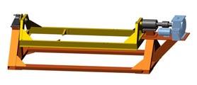 SPM-5500E Стенд-кантователь для сборки/разборки ДВС Cummins KTA-50C карьерных самосвалов