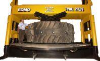 Портальный шиномонтажный пресс EDMO 450 (Австралия) для монтажа шин размерностью от 35